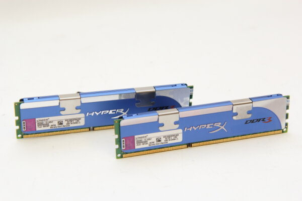 Kingston HyperX 4GB DDR3 Kit 1600MHz PC3-12800 PC Speicher RAM KHX1600C9D3K2/4GX