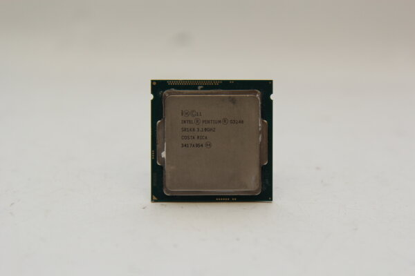 Intel® Pentium® G3240 3,1GHz 3MB Intel® HD Graphics Sockel 1150 53Watt SR1K6 SR1RL