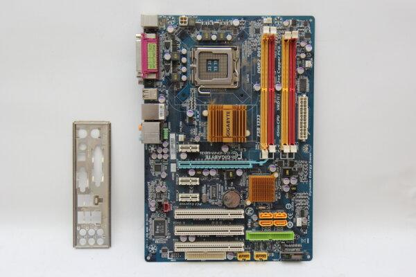 Gigabyte GA-EP41-UD3L ATX Mainboard Sockel 775 Intel® P41 Chipsatz PCIe DDR2 USB2 SATA IDE geprüft
