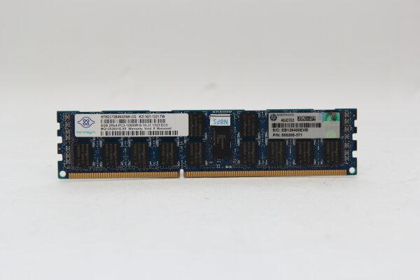 Hynix 8GB DDR3 1333MHz PC3-10600R-9-10-J1.1333.ECC ECC Server Speicher RAM NT8GC72B4NG0NK-CG