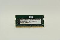 Apacer 4GB DDR4 2400MHz PC4-19200 Notebook Speicher RAM...