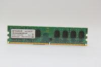 Swissbit 2GB DDR2 800MHz PC2-6400U-555 PC Speicher RAM...