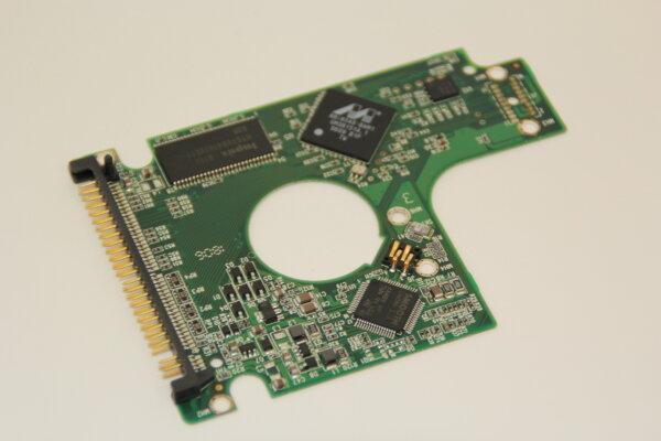 WesternDigital HDD PCB Festplattenelektronik 2060-701285-001 Main IC: 88i6740-BAM1 Motor IC: -