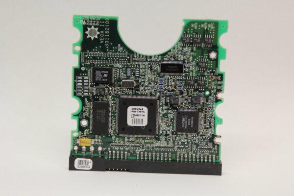 Maxtor HDD PCB Festplattenelektronik 301182100 Main IC: 011100219K Motor IC: 86A00NK