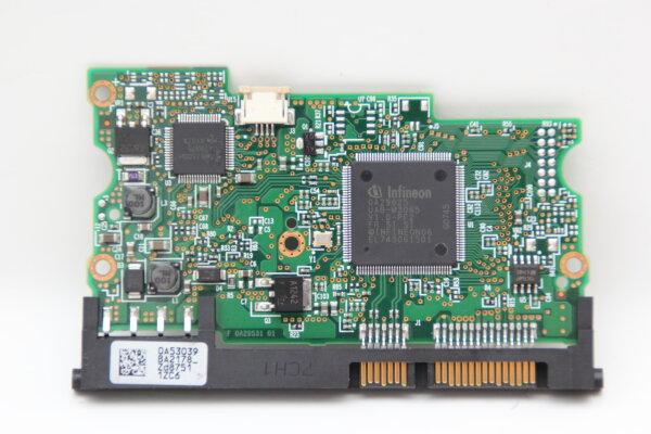 Hitachi HDD PCB Festplattenelektronik 0A53039 Main IC: 0A29625 Motor IC: 0A29374