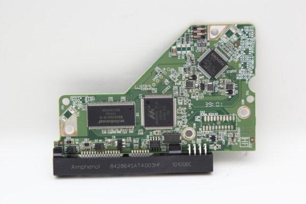 WesternDigital HDD PCB Festplattenelektronik 2060-771590-001 Main IC: 88i8846E-TFJ2 Motor IC: L7251
