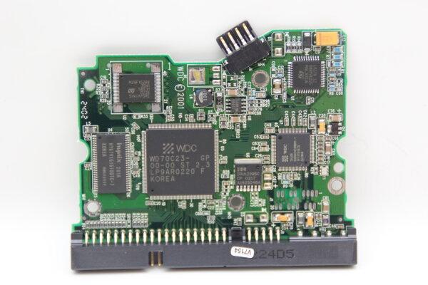 WesternDigital HDD PCB Festplattenelektronik 2060-001092-007 Main IC: WD80C24 Motor IC: L6278 1.2E