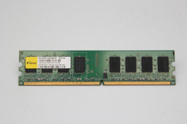 Elixir 2GB DDR2 800MHz PC2-6400U-555-13-E1.800 PC Speicher RAM M2Y2G64TU8HD5B-AC