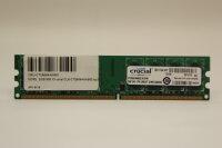 Crucial 2GB DDR2 800MHz PC2-6400 PC Speicher RAM...