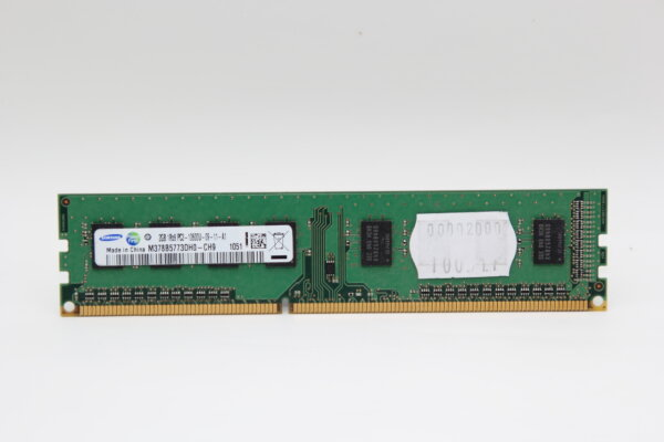 Samsung 2GB DDR3 1333MHz PC3-10600U-09-11-A1 PC Speicher RAM M378B5773DH0-CH9