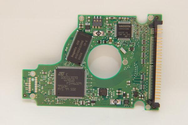 Seagate HDD PCB Festplattenelektronik 100342240 Main IC: 100313070 Motor IC: -