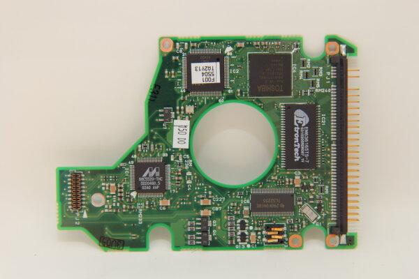 Toshiba HDD PCB Festplattenelektronik G5B000043000-A Main IC: 88C5520-THC Motor IC: TLS2255