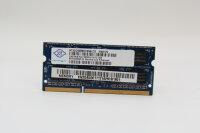 Nanya 2GB DDR3 1333MHz PC3-10600S-9-10-F2.1333 Notebook...