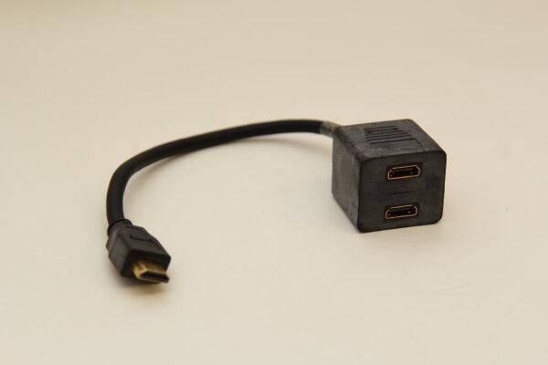 Cavo HDMI male auf 2 x HDMI female