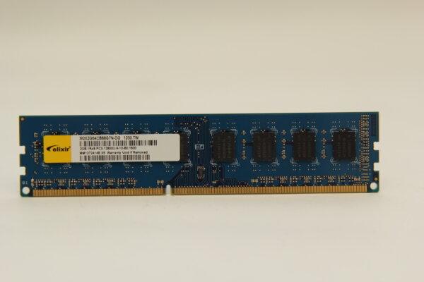 Elixir 2GB DDR3 1600MHz PC3-12800U-9-10-B0.1600 PC Speicher RAM M2X2G64CB88G7N-DG