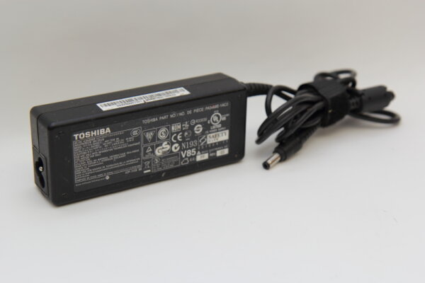Toshiba Original 75 Watt Netzteil 19V 3,95A Stecker 5,5mm/2,5mm APD-75SB BB PA3468E-1AC3 PA5034U-1ACA PA3715U-1ACA PA-1750-09 PA3468E-1AC3 PA3715E-1AC3