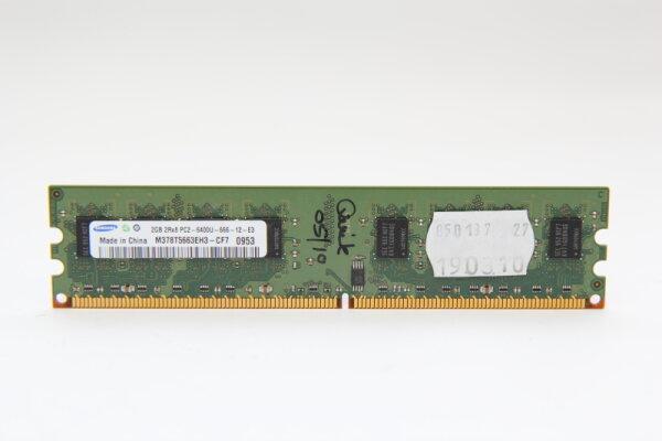 Samsung 2GB DDR2 800MHz PC2-6400U-666-12-E3 PC Speicher RAM M378T5663EH3-CF7