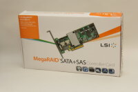 LSI SAS RAID, PCIe, 4ports int. 4Port internal, MD2...