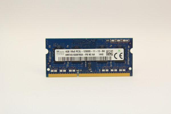 Hynix 4GB DDR3 1600MHz PC3L-12800S-11-13-B4 Notebook Speicher RAM HMT451S6BFR8A-PB N0 AA