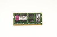 Kingston 2GB DDR3 1333MHz PC3-10600S Notebook Speicher...