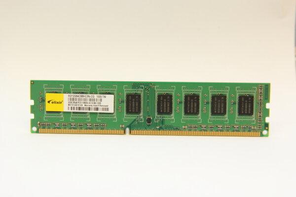 Elixir 2GB DDR3 1333MHz PC3-10600U-9-10-B0.1333 PC Speicher RAM M2Y2G64CB8HC5N-CG