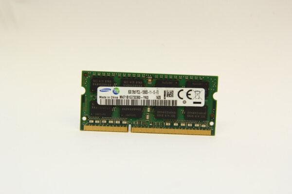 Samsung 8GB DDR3 1600MHz PC3L-12800S-11-13-F3 1,35Volt Notebook Speicher RAM M471B1G73DB0-YK0