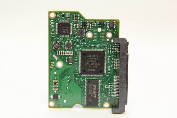 Seagate HDD PCB Festplattenelektronik 100535704 Main IC: B5502DO Motor IC: SH6964BD