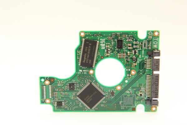 Hitachi HDD PCB Festplattenelektronik 0A53120 Main IC: 0A52030 Motor IC: TLS32501