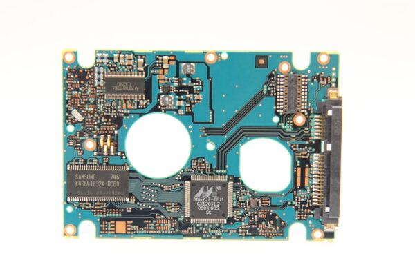 Fujitsu HDD PCB Festplattenelektronik CA26344-B32104BA Main IC: 88i6737-TFJ1 Motor IC: TLS2503
