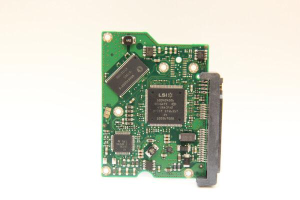 Seagate HDD PCB Festplattenelektronik 100466725 Main IC: TTB5501D Motor IC: 100369972