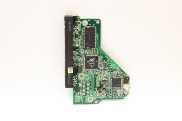 WesternDigital HDD PCB Festplattenelektronik 2060-701444-003 Main IC: 88i6745-TFJ1 Motor IC: L6284 3.0