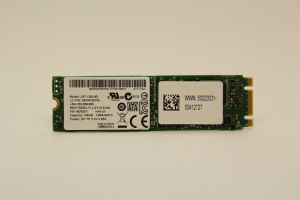 LiteOn 128GB M.2 NGFF SATA II 3Gb/s SSD 80mm L8T-128L9G