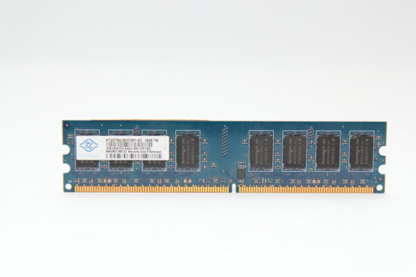Nanya 2GB DDR2 800MHz PC2-6400S-666-13-E1.800 PC Speicher RAM NT2GT64U8HD0BY-AD