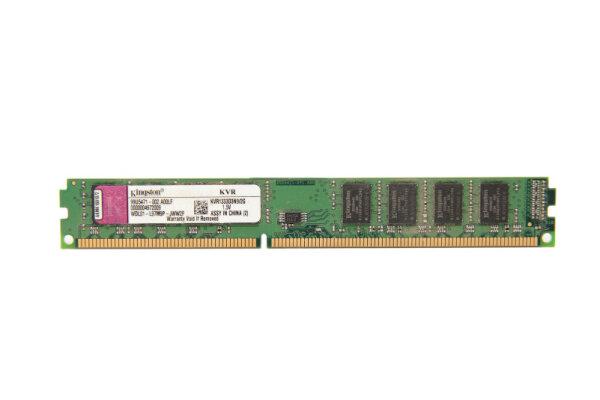 Kingston VLP 2GB DDR3 1333MHz PC3-10600 PC Speicher RAM KVR1333D3N9/2G