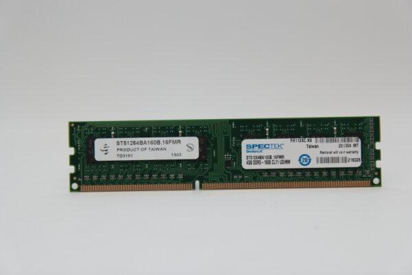 Spectek 4GB DDR3 1600MHz PC3-12800U PC Speicher RAM ST51264BA160B.16FMR
