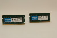 Crucial 8GB DDR4 Kit (2x4GB) 2400MHz PC4-19200 Notebook...