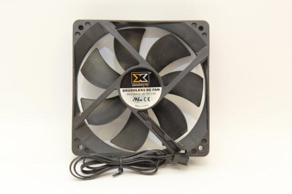 XigmaTek PC-Gehäuselüfter 120mm schwarz Brushless DC Fan