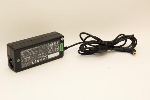 LiShin 65 Watt Netzteil 19V 3,2A Stecker 5,5mm/2,5mm 0335A1965