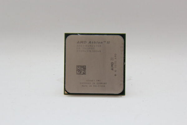 AMD Athlon II X4 631 2,6GHz 4x1MB Sockel FM1 100Watt AD631XWNZ43GX