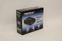 TRENDnet Gigabit PoE+ Extender/Verstärker, Einfacher...