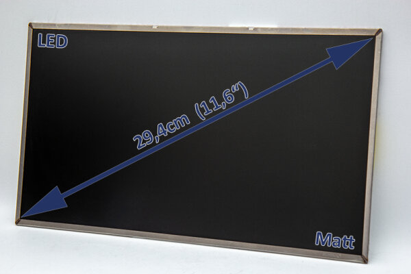 Samsung 29,4cm (11,6) LED Display matt 40 Pin 1366 x 768 WSVGA LTN116AT01