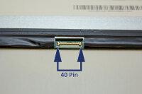 """ChiMei 39,1cm (15,4"""") LED Slim Display glänzend 40 Pin LVDS 1440 x 900 WXGA+ N154C6-L04"""