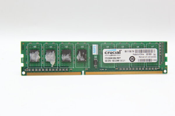 Crucial 4GB DDR3 1600MHz PC3-12800 PC Speicher RAM CT51264BA160BJ.M8FP
