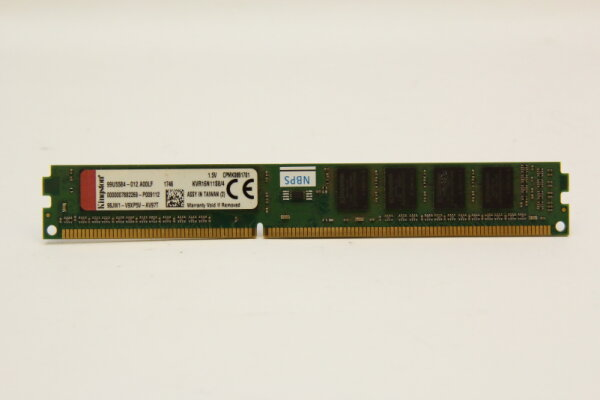 Kingston 4GB DDR3 1600MHz PC3-12800 PC Speicher RAM KVR16N11S8/4