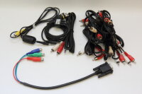 6x Cinch Kabel, 1x Cinch auf 3,5mm Klinke, 1x Cinch auf...