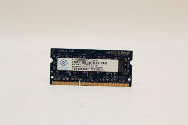 Nanya 2GB DDR3 1600MHz PC3-12800S-11-10-B2.1600 Notebook Speicher RAM NT2GC64B88G0NS-DI