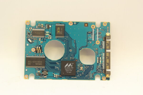 Fujitsu HDD PCB Festplattenelektronik CA26329-B81204BA Main IC: 88i6535-BAN Motor IC: TLS2255