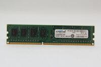 Crucial 4GB DDR3 1600MHz PC3-12800 PC Speicher RAM...