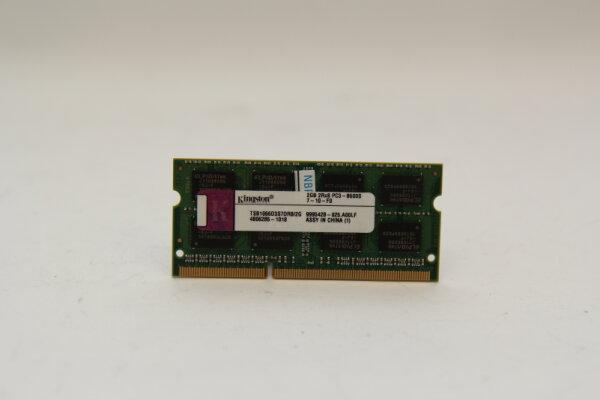 Kingston 2GB DDR3 1066MHz PC3-8500 Notebook Speicher RAM TSB1066D3S7DR8/2G