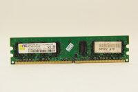 Aeneon 2GB DDR2 800MHz PC2-6400U-555 PC Speicher RAM...